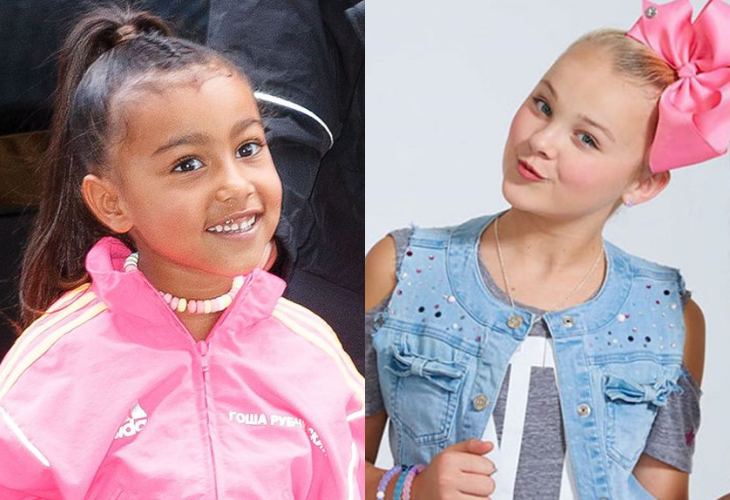 North West y Jojo Siwa