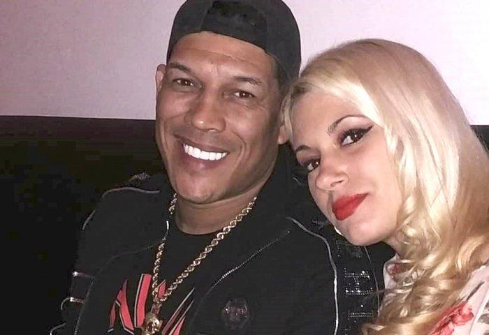 Limay Blanco junto a su esposa