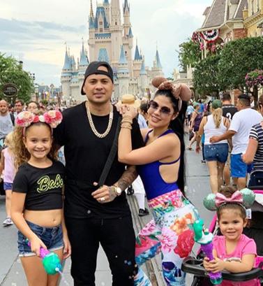 Jacob Forever de vacaciones en Disney con su familia