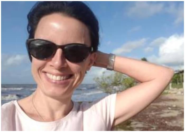 La profesora cubana, Omara Ruiz Urquiola