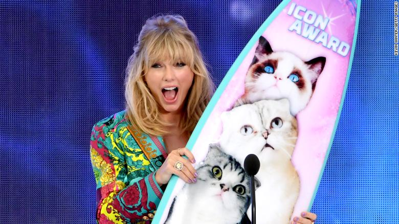 Lista de ganadores de los premios Teen Choice Awards. Taylor Swift, la gran premiada