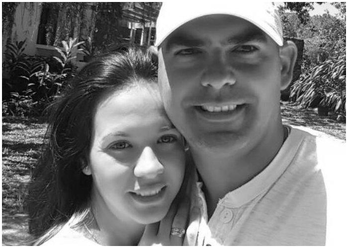 Marian Boado junto a su esposo Hecguel Casana