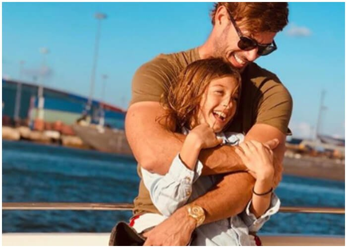 William Levy y su hija Kailey.