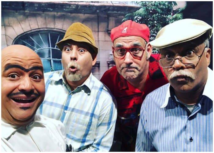 Personajes del programa cubano Vivir del Cuento.