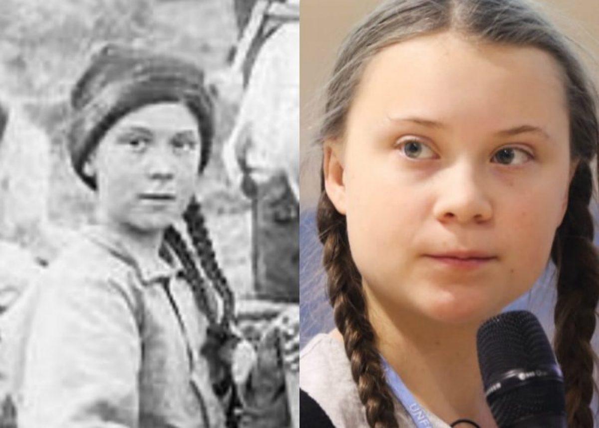 Viral: ¿Activista sueca Greta Thunberg viaja en el tiempo?