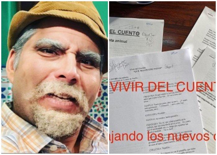 Luis Silva anuncia nuevos episodios de Vivir del Cuento