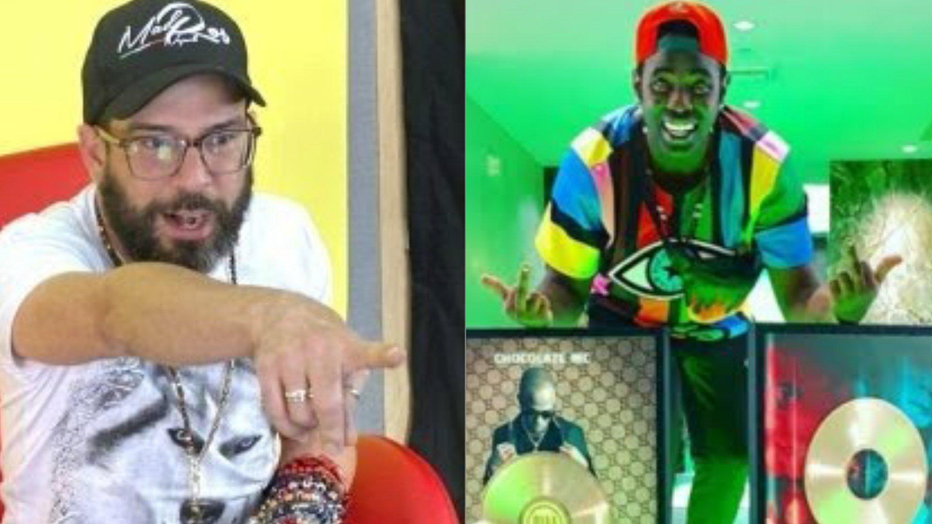 Chocolate MC arremete contra Alexander Otaola por poner en duda la veracidad de sus premios