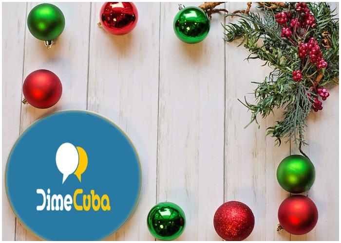 Recarga Cubacel de DimeCuba para Navidad.