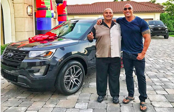Falleció el mítico Rocky Johnson, padre del actor Dwayne 'The Rock' Johnson (FOTO CAPTURA INSTAGRAM DWAYNE JOHNSON)