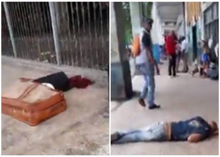 ¡Lamentable! Cubanos recibieron el 2020 durmiendo en las calles de La Habana