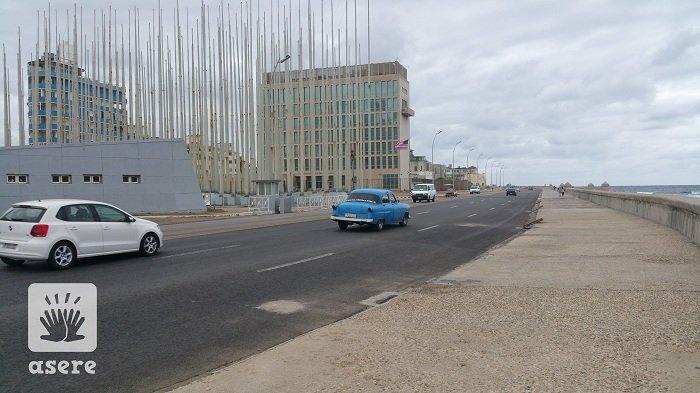 Cubanos podrán optar por un trabajo en la embajada de EEUU en La Habana. (ASERE)