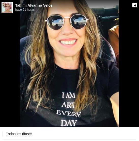Tahimi Alvariño llega a sus 51 años más bella y radiante que nunca
