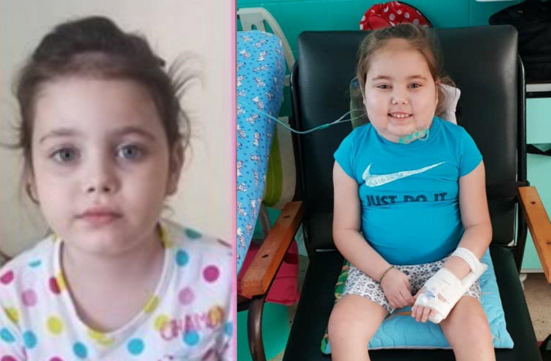 """Familia cubana pide ayuda para niña de 7 años con cáncer cerebral: """"Ayudemos a Valeria"""""""