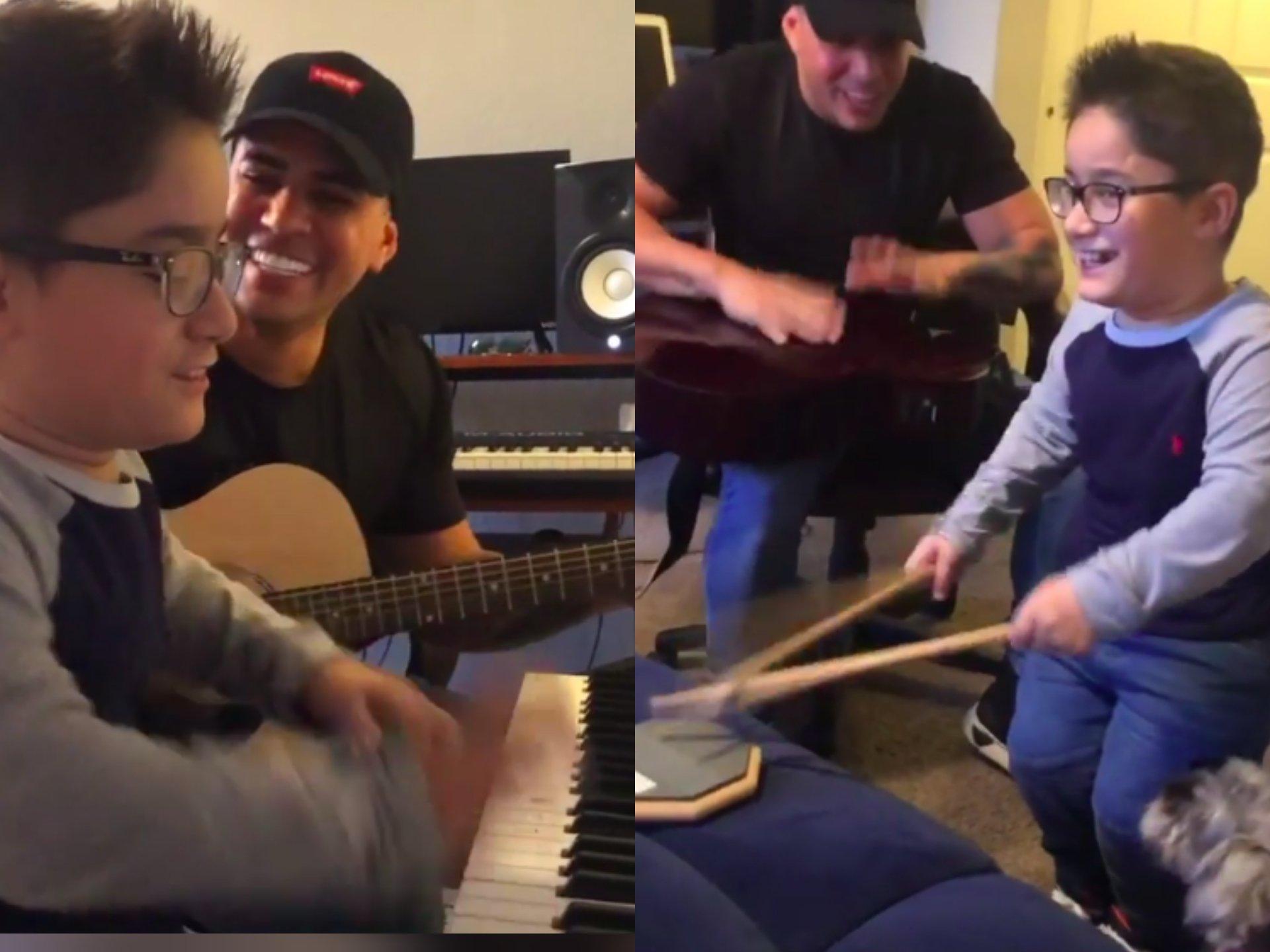 Baby Lores ayuda a niño cubano a cumplir su sueño de conocer a Marc Anthony