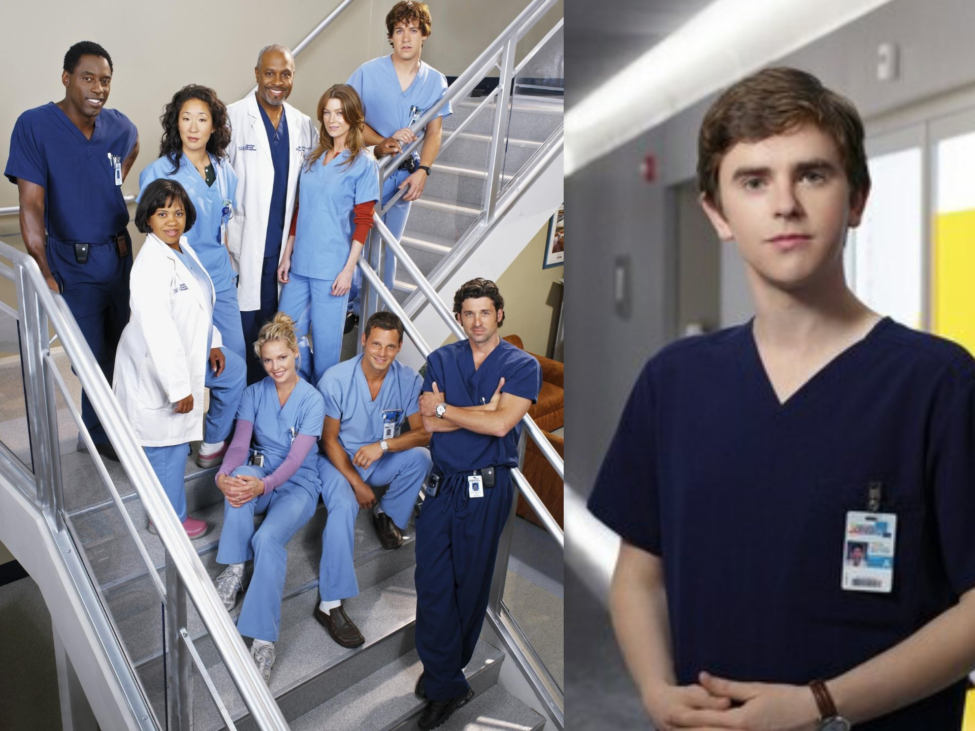 Anatomía de Grey y The Good Doctor donan su material sanitario a hospitales