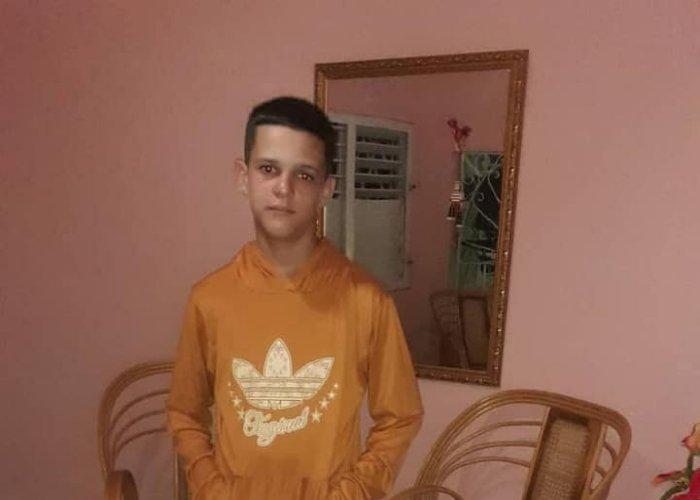 Joven desaparecido Dennis Valdés Rodríguez, de tan solo 17 años