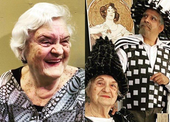 """Arís Teresa, responsable de dar vida a Evarista en el programa humorístico cubano """"Vivir del Cuento"""""""