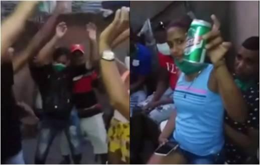 En plena pandemia, cubanos celebran una fiesta familiar