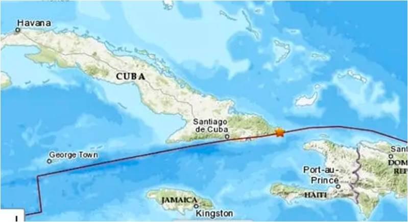 Cuba vuelve a ser sacudida por un sismo de 4.8 grados