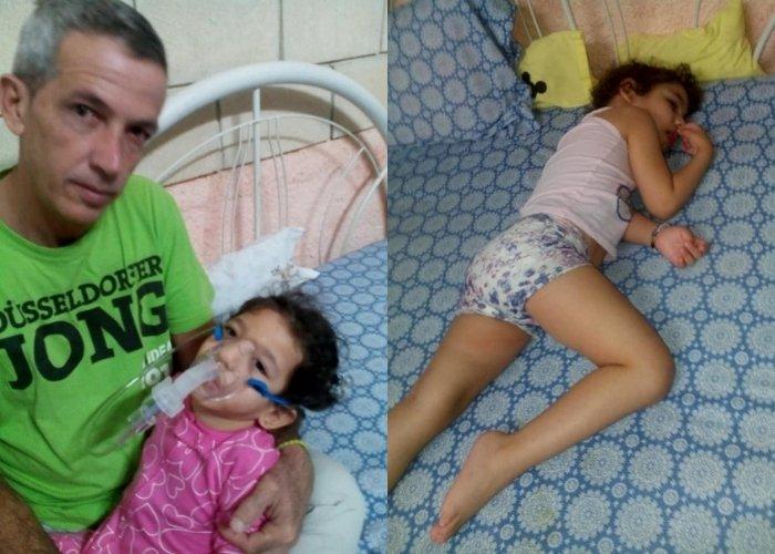 Ángel Lleo y su hija Samara, de 4 años