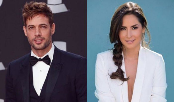 Cubano William Levy y la actriz colombiana Carmen Villalobos