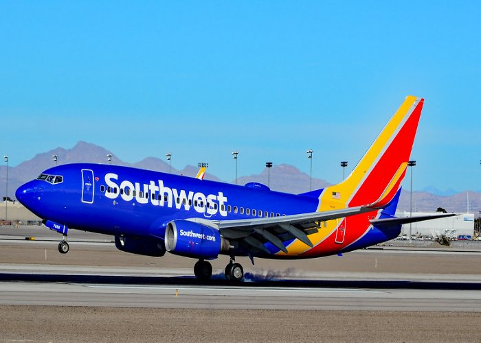 N7856A Southwest Airlines Boeing