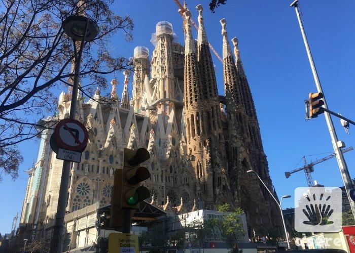 Sagrada Familia, en Barcelona