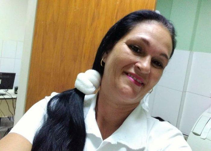 Yaquelín Collazo, la enfermera cubana de 53 años