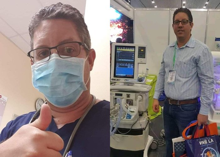 Médico cubano Maikel Alba Pérez, de 41 años