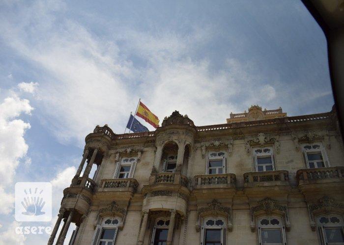 Consulado español en La Habana