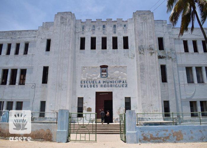 Escuela Municipal Valdés Rodríguez, en La Habana