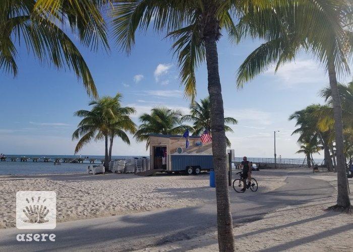 Playa en Florida, Estados Unidos