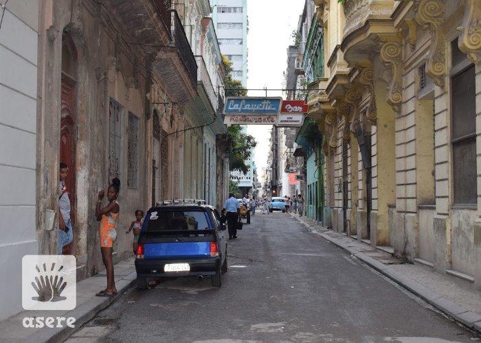 Vecinos de la Habana Vieja