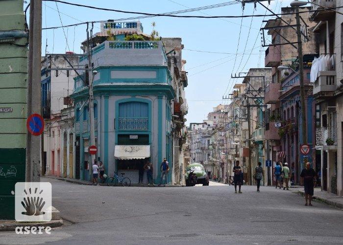 Calle Infanta, en La Habana