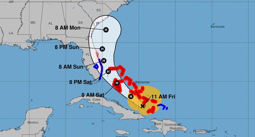 Florida declara estado de emergencia en varios condados ante la llegada del huracán Isaías