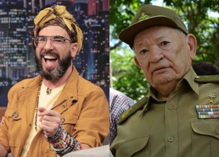 Alex Otaola y Guillermo García Frías