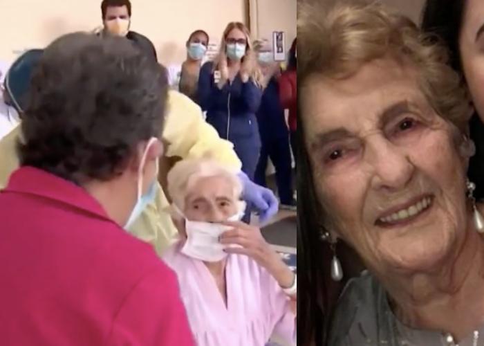 Blanca Nieves Martínez, cubana de 101 años