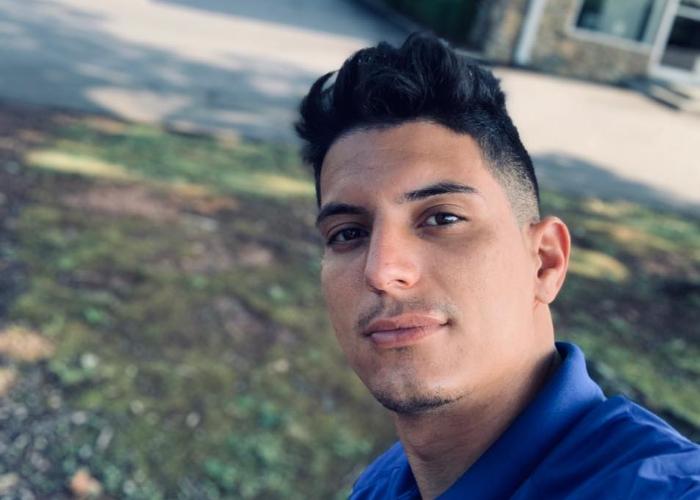 Polizonte cubano Yunier García