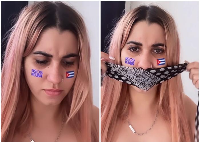 Dina Stars condena censura en Cuba tras la prohibición de la Marcha Cívica por el Cambio
